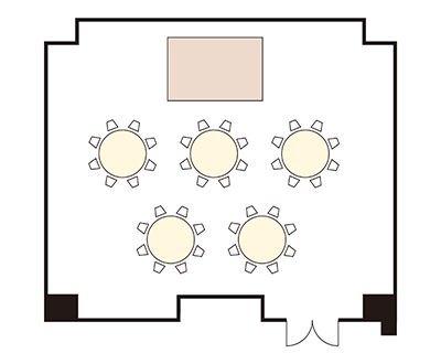"Banquet Hall ""Kongo"" layout"