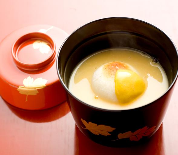 京料理なかむら_白味噌雑煮