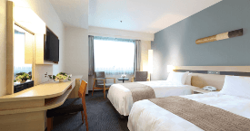 List of guest rooms